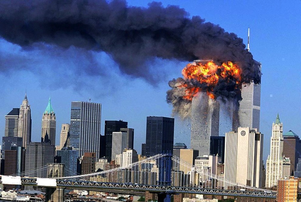 11/09/2001 - Neww York: attentato alle Twin Towers
