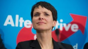 Frauke Petry leader del partito Alternative für Deutschland