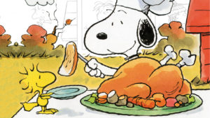Il Thanksgiving secondo Charles M. Schulz