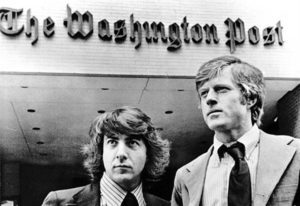 Dustin Hoffman e Robert Redford in All the president's men