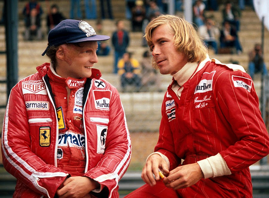 Niki Lauda e James Hunt, il grande Rush del 1976