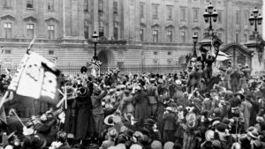 Londra, Buckingham Palace, 11.11.1918