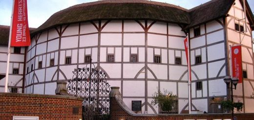 Shakespeare's Globe Theatre in London
