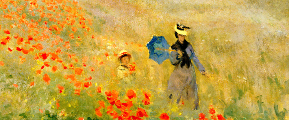 Papaveri, di Claude Monet