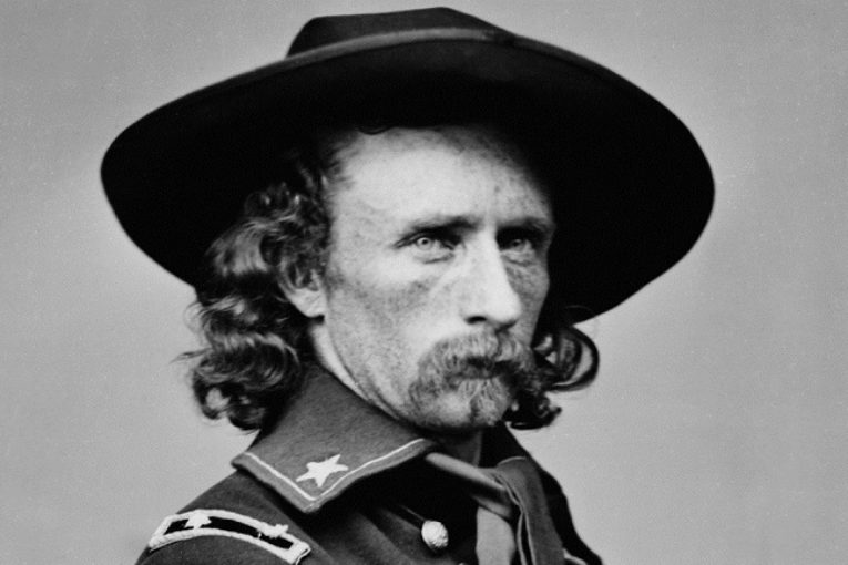 """Capelli gialli"" George Armstrong Custer"