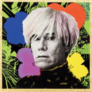 L'artista Andy Warhol, inventore della Pop Art.