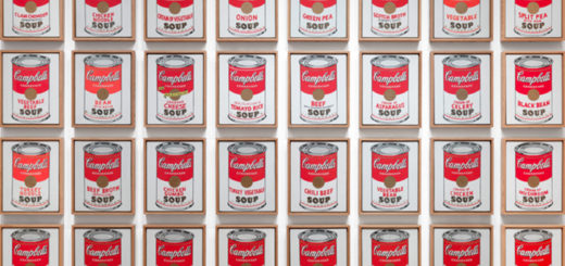 Andy Warhol, The Campbell's Soup Cans, Andy Warhol ,1962, The Andy Warhol Museum, Pittsburgh.