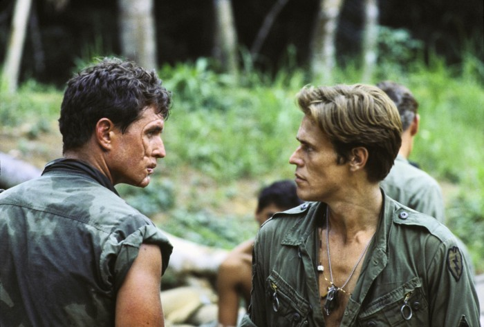 "Tom Berenger e Willem Dafoe, le due ""anime"" di Platoon"