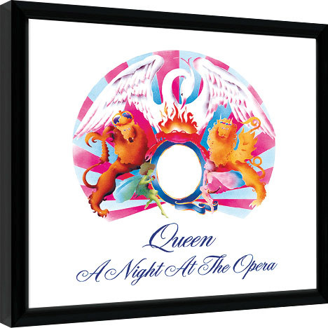 "La copertina dell'album "" A Night At The Opera"" , 21 novembre 1975."