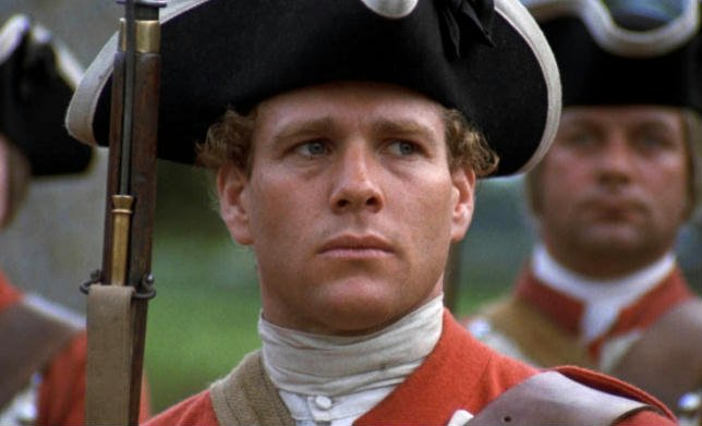 Ryan O'Neal nei panni di Barry Lyndon