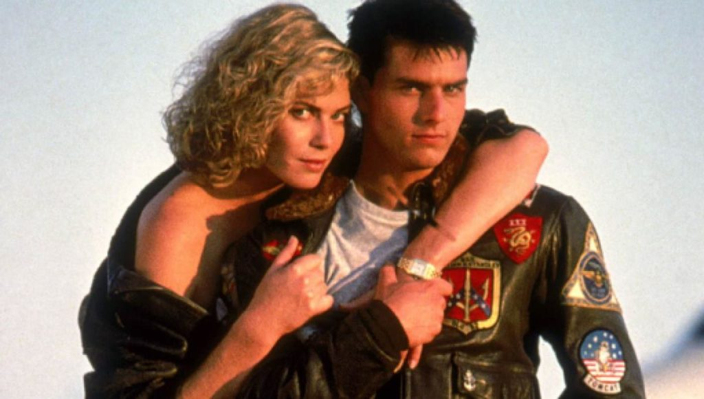 "Kelly McGillis ""Charlie"", Tom Cruise ""Maverick"""