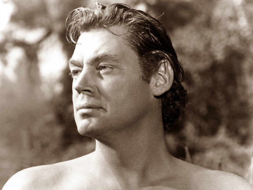 Johnny Weissmuller interpreta Tarzan