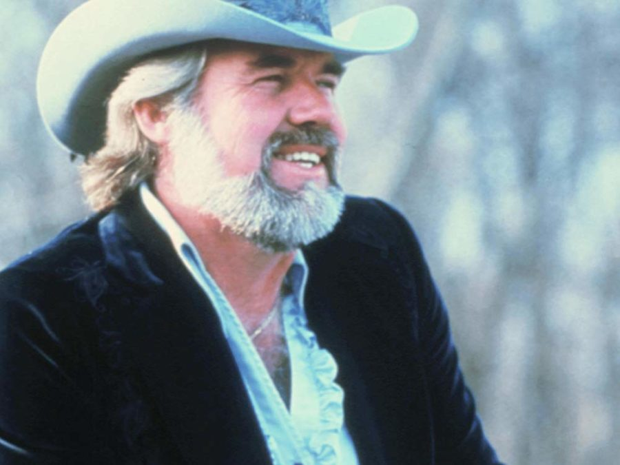 Il cantante country Kenny Rogers