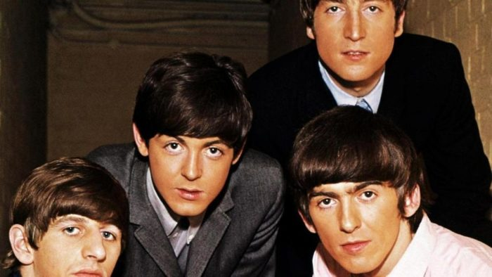 The Beatles: John Lennon, Paul Mc Cartney, George Harrison, Ringo Starr