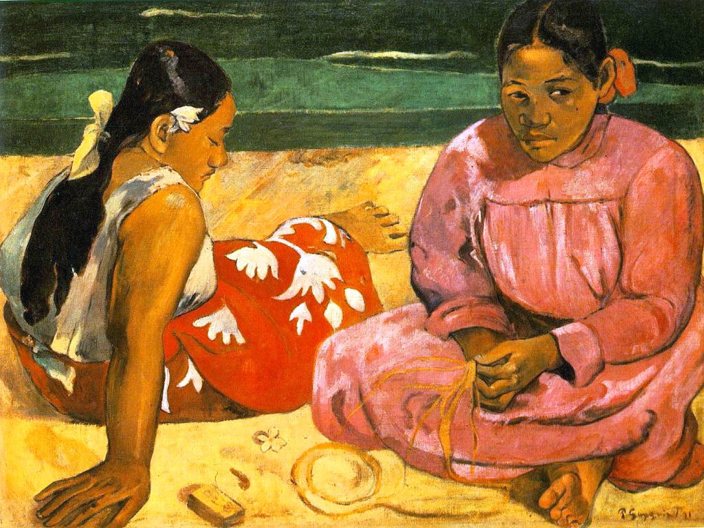 Paul Gauguin, Due donne tahitiane ,1891.