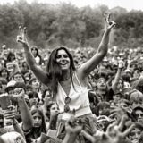 Il pubblico di Woodstock,  Bethel - White Lake -New York. 15-18 agosto 1969