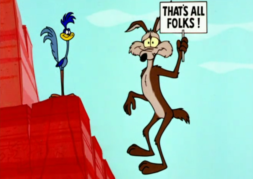 Willy il Coyote (Wile E. Coyote) e Beep Beep (Road Runner), i personaggi animati creati da Chuck Jones e da Michael Maltese nel 1949