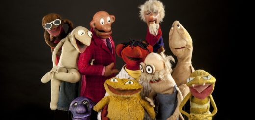 "Puppets. Ten early Muppets made by Jim Henson for the television program ""Sam and Friends"" including Sam, Kermit, Harry the Hipster, Icky Gunk, Moldy Hay, Mushmellon, Pierre, Professor Madcliffe, Yorick, and Chicken Liver. Acc.# 2010.0144."